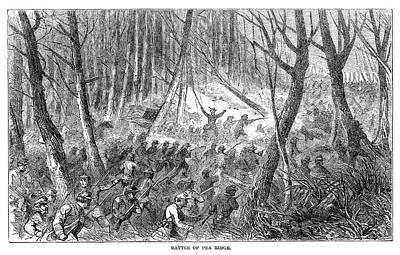 Battle Of Pea Ridge, 1862 Art Print by Granger
