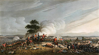 Painting - Battle Of Waterloo, 1815 by Granger