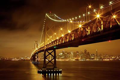 Bay Photograph - Bay Bridge by Evgeny Vasenev
