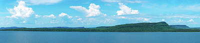 Bay From North Shore Of Lake Superior Art Print by Panoramic Images