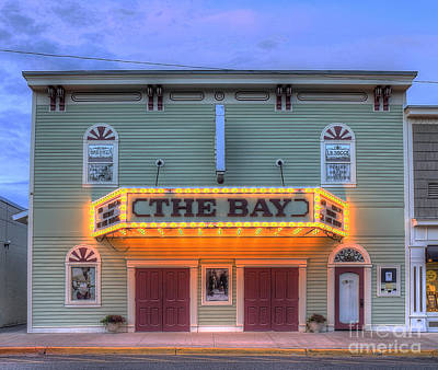 Michigan Theatre Photograph - Bay Theatre In Sutton's Bay by Twenty Two North Photography