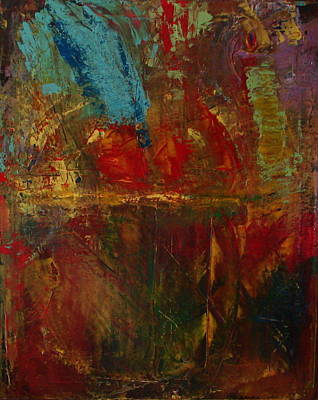 Vibrancy Painting - Bayfront Reflections by Michael Kovacs