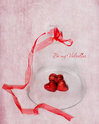 Photograph - Be My Valentine by Rebecca Cozart