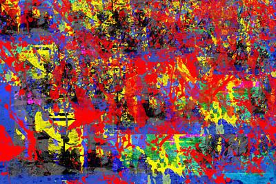 Collier Digital Art - Be Still My Heart by Francine Collier