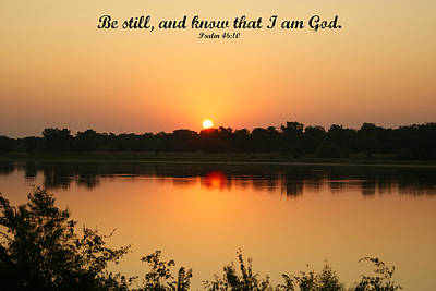 Photograph - Be Still by Roseann Errigo
