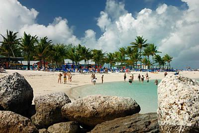 Bahamas Photograph - Beach At Coco Cay by Amy Cicconi