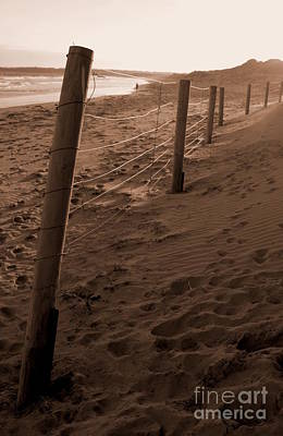 Photograph - Beach Fence by Amanda Holmes Tzafrir