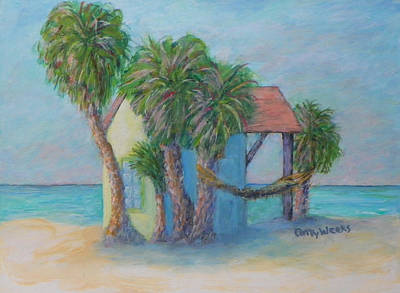 Painting - Beach Hut by Patty Weeks