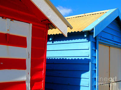 Photograph - Beach Huts by Amber Nissen
