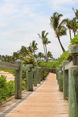 Photograph - Beach Walkway In Maui by John Orsbun