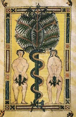 Fine Art Miniatures Photograph - Beatus Of Liebana. 10th C. Sheet 150 by Everett