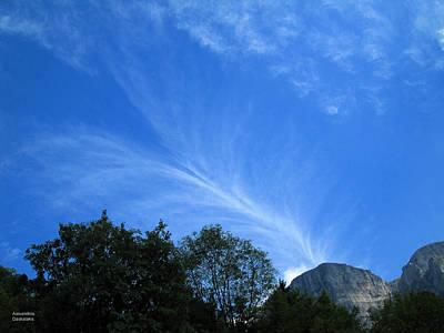 Photograph - Beautiful Clouds by Alexandros Daskalakis