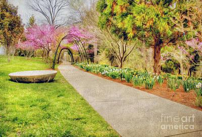 Beautiful Spring Art Print by Darren Fisher