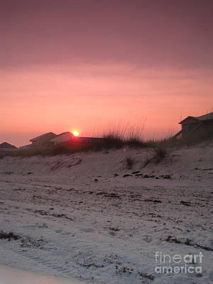 Sand Wall Art - Photograph - Beautiful Sunset by Megan Cohen