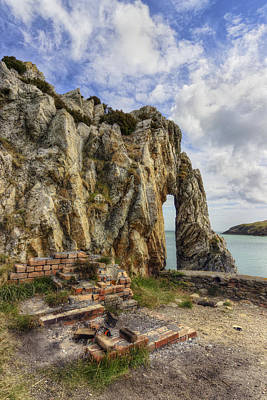 Porth Wen Photograph - Beauty And Decay by Ian Mitchell