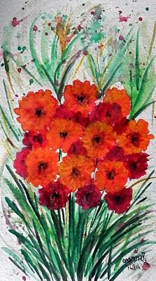 Painting - Beauty  by Usha Rai