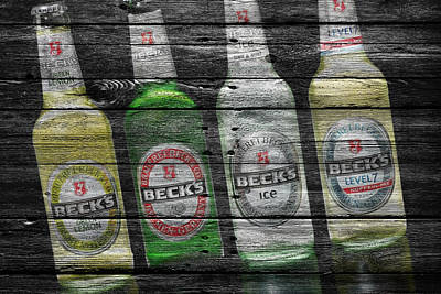 Hop Photograph - Becks by Joe Hamilton
