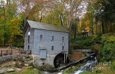 Washington Indiana Photograph - Becks Mill by Charles Trinkle