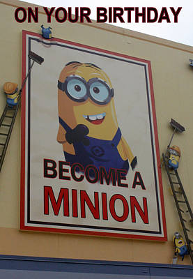 Photograph - Become A Minion by David Nicholls