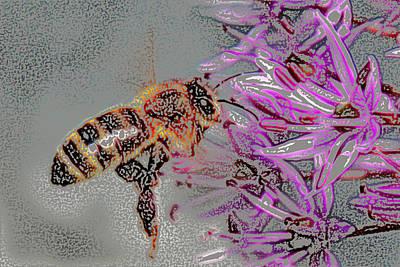 Digital Art - Bee  by Kathleen Stephens