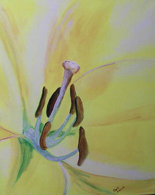 Bee Sees Art Print by Rich Mason