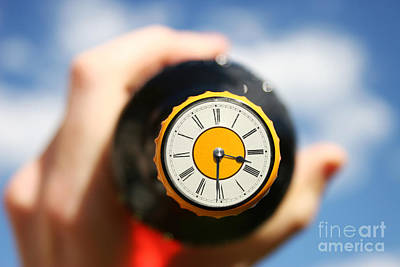 Beer Photos - Beer OClock by Jorgo Photography - Wall Art Gallery
