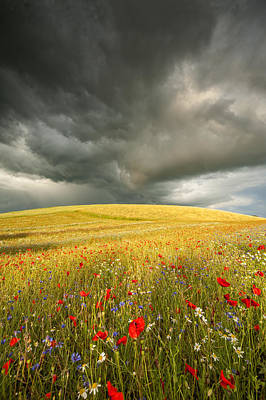 Waiting For The Sun Photograph - Before The Storm by Jan Sieminski