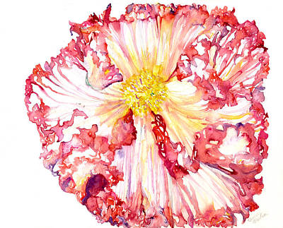 Delicate Details Painting - Begonia by Beverly Bronson