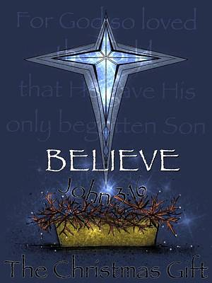 Digital Art - Believe by Mary Eichert