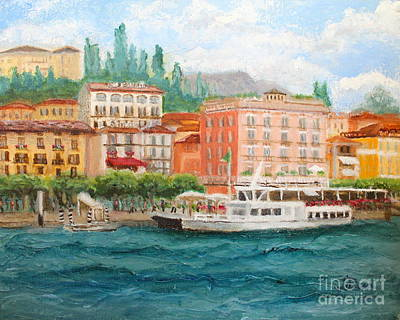 Painting - Bellagio by Tracey Peer