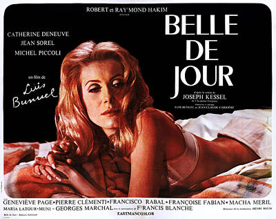 Belle De Jour, Catherine Deneuve Art Print