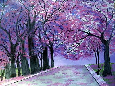 Painting - Belle Fleur by Daniel Nadeau