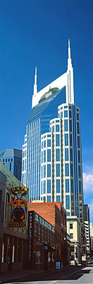 Downtown Nashville Photograph - Bellsouth Building In Nashville by Panoramic Images