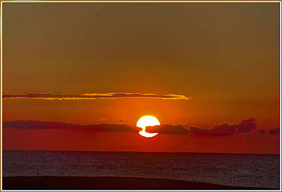 Surfer Magazine Digital Art - belmar sunrise New Jersey 2 by Geraldine Scull
