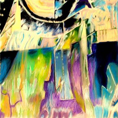 Hot Wax Painting - Belzoni Series 080722 by John Warren OAKES