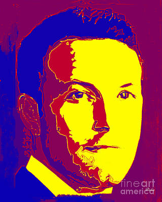 Ben Affleck Wall Art - Digital Art - Ben Affleck by Dalon Ryan