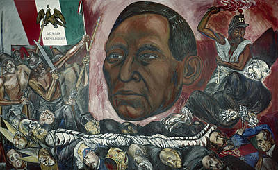 Clemente Painting - Benito Juarez (1806-1872) by Granger