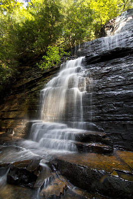 Ocoee Photograph - Benton Falls by Debra and Dave Vanderlaan