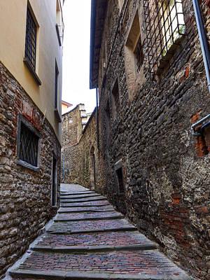 Jouko Lehto Royalty Free Images - Bergamo alta Royalty-Free Image by Jouko Lehto
