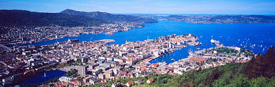 Norway Photograph - Bergen Norway by Panoramic Images