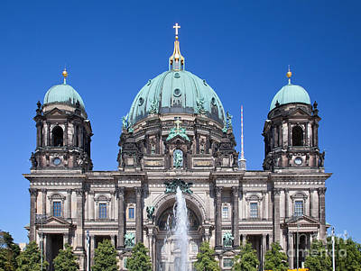 Berlin Cathedral Photograph - Berlin Cathedral by Michal Bednarek