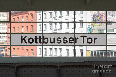 Transportation Royalty-Free and Rights-Managed Images - Berlin Kottbusser Tor by Jannis Werner