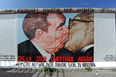 Berlin Wall Art Print by Ingo Schulz