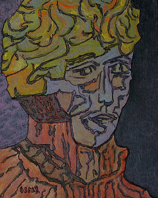 Painting - Bernard  by Oscar Penalber