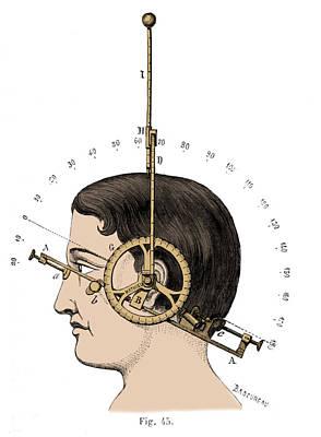 Bertillons Anthropometry, 1883 Art Print