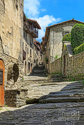 Girona Photograph - Rupit A Medieval Town In Catalonia Spain by Louise Heusinkveld