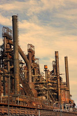 Photograph - Bethlehem Steel # 9 by Marcia Lee Jones