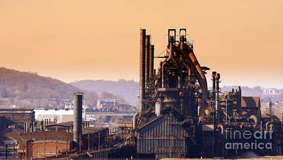 Photograph - Bethlehem Steel  Sold 3 by Marcia Lee Jones