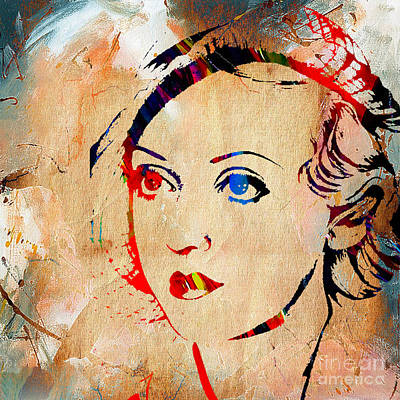 Bette Davis Mixed Media - Bette Davis Collection by Marvin Blaine