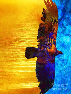 Spirit Guides Digital Art - Between Worlds by Robert Ball